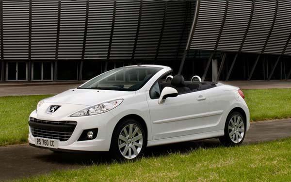 Peugeot 207 CC 2009-2015