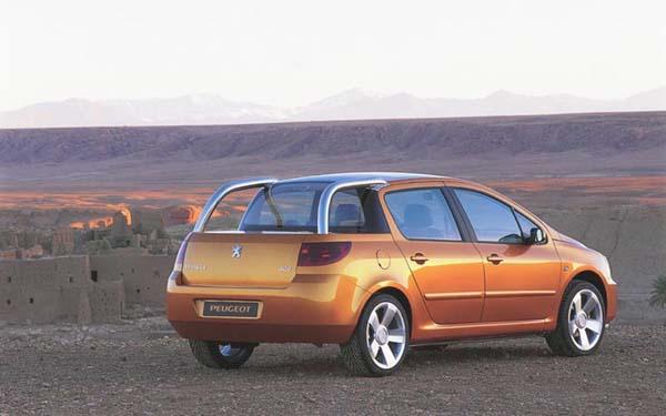 Peugeot 307 Cameleo 2001-2004