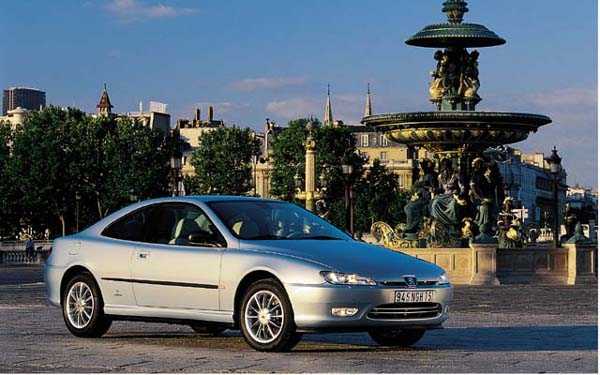 Peugeot 406 Coupe 1996-2005