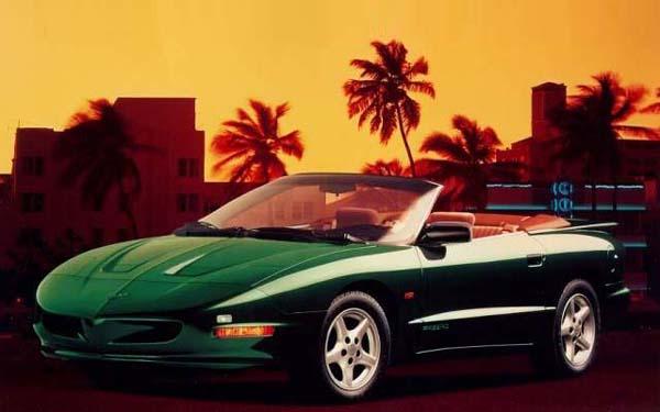 Pontiac Firebird Convertible 1995-2002
