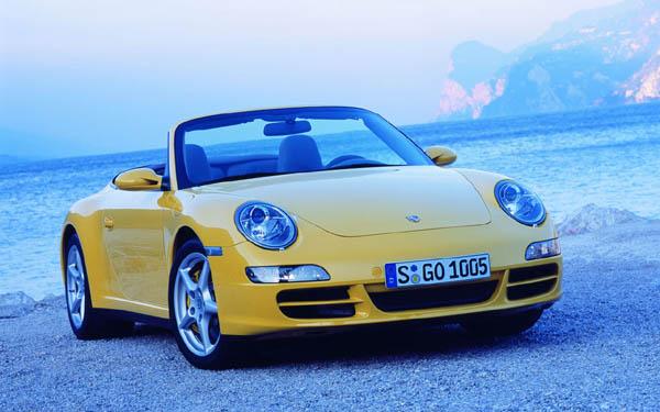 Porsche 911 Cabrio 2004-2008