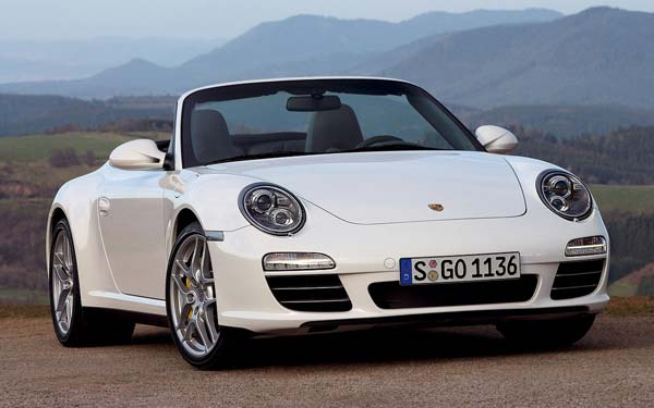 Porsche 911 Cabrio 2008-2011