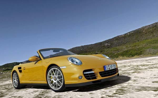 Porsche 911 Turbo Cabriolet 2009-2011