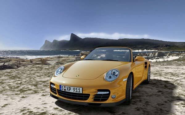 Porsche 911 Turbo Cabrio 2009-2011