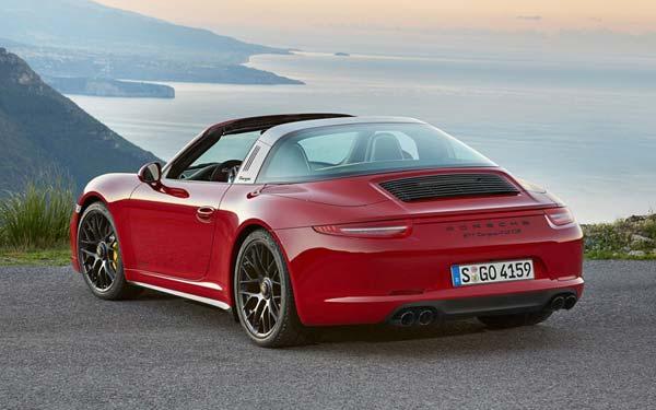 Porsche 911 GTS Targa 2015-2016