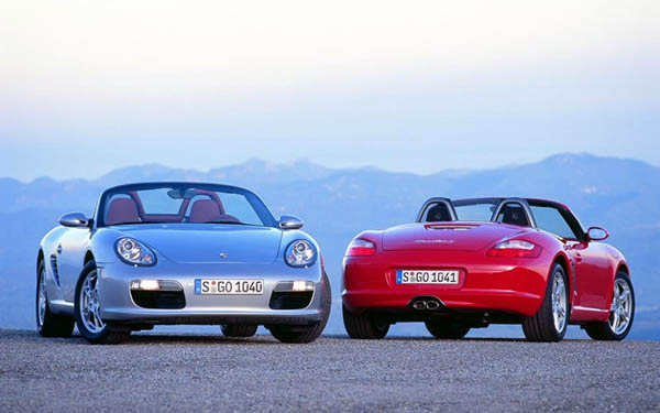 Фото Porsche Boxster  (2004-2008)