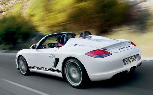 Porsche Boxster Spyder 2010-2012