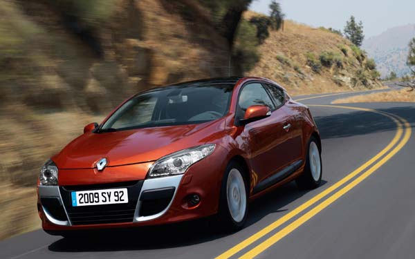 Renault Megane Coupe 2009-2013