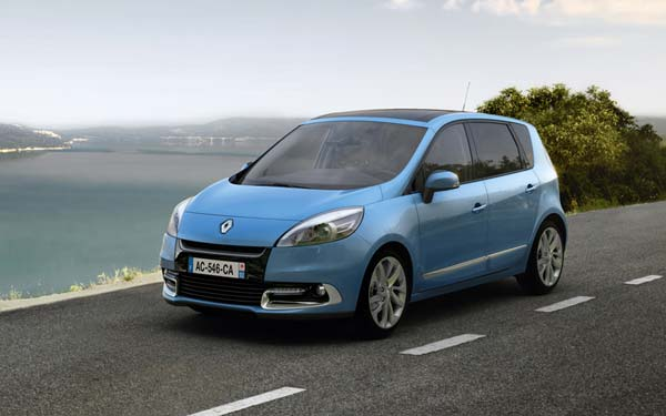 Renault Scenic 2012-2013
