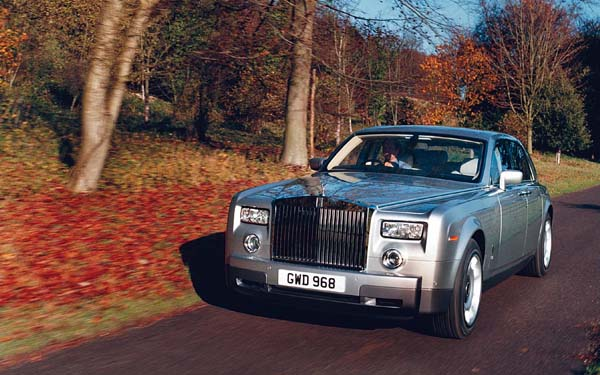 Rolls-Royce Phantom (2003-2012) Фото #1