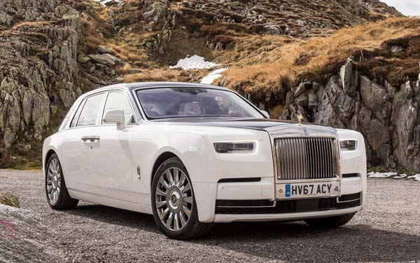 Rolls-Royce Phantom (2017...) Фото #91