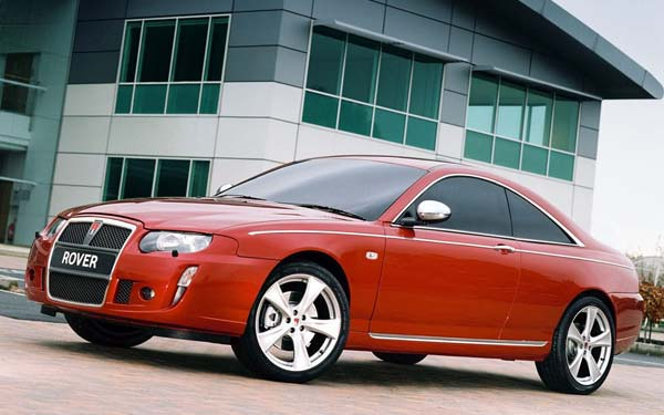 Rover 75 Coupe Concept (2004) Фото #31