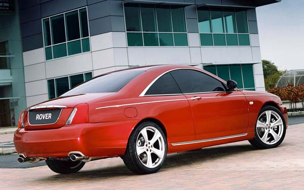 Rover 75 Coupe Concept (2004) Фото #32