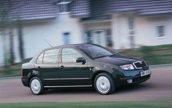 Skoda Fabia Sedan 2001-2007
