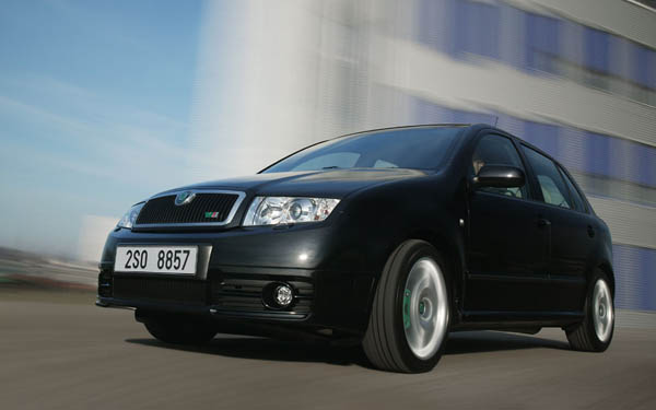 Skoda Fabia RS 2003-2007