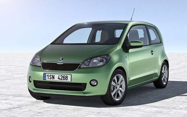 Skoda Citigo 3-Door (2012-2017) Фото #1