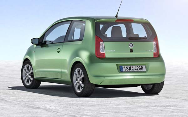 Skoda Citigo 3-Door (2012-2017) Фото #2