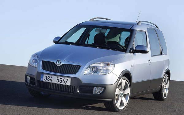 Skoda Roomster Scout 2007-2010