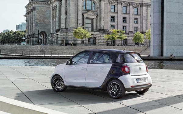 Smart Forfour 2014-2019
