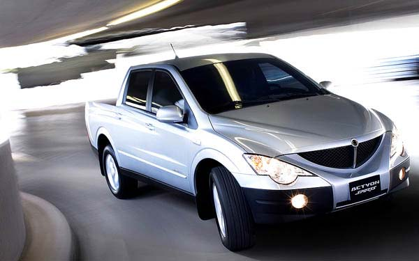 SsangYong Actyon Sports (2006-2012) Фото #11