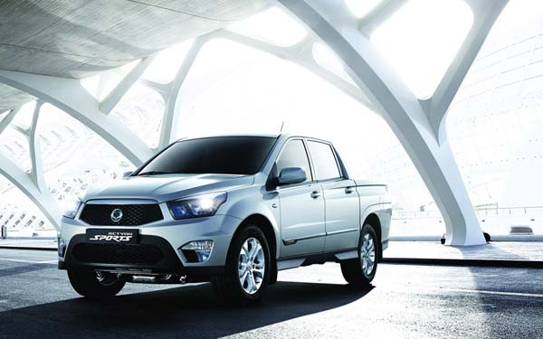 SsangYong Actyon Sports (2012...) Фото #31