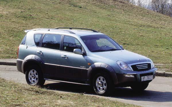 SsangYong Rexton 2001-2007