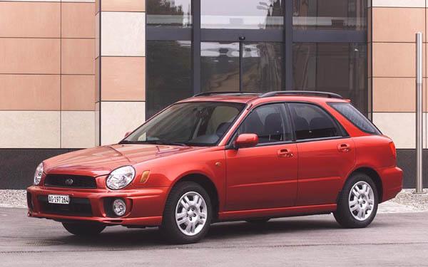 Subaru Impreza SportsCombi WRX 2000-2002