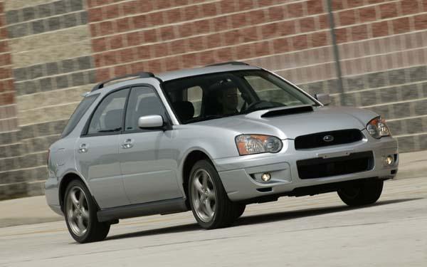 Фото Subaru Impreza SportsCombi  (2003-2005)