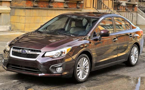 Subaru Impreza Sedan 2011-2016