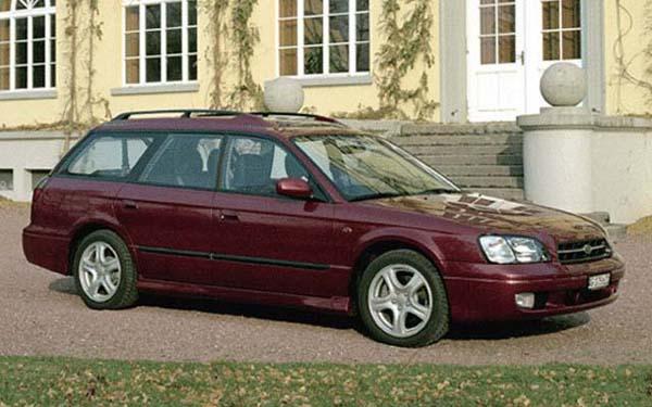 Фото Subaru Legacy Wagon  (2000-2002)