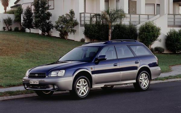 Фото Subaru Legacy Outback  (2000-2002)