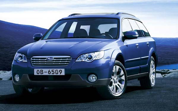 Фото Subaru Outback  (2007-2009)