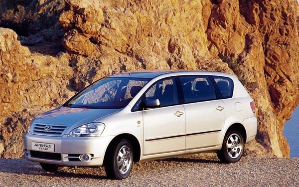 Toyota Avensis Verso 2001-2003