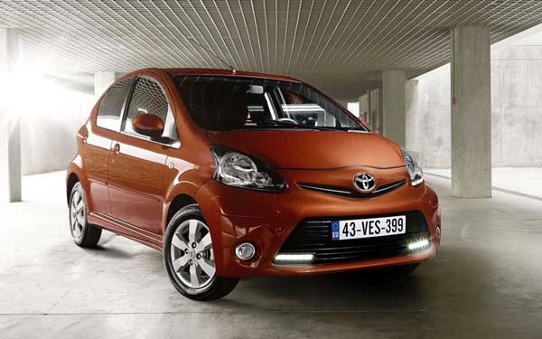 Toyota Aygo 2012-2014