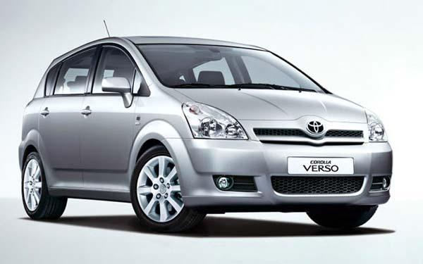 Toyota Corolla Verso 2005-2009