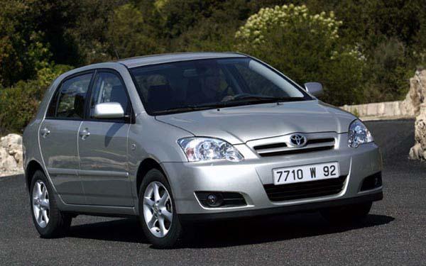 Toyota Corolla Hatchback 2005-2006