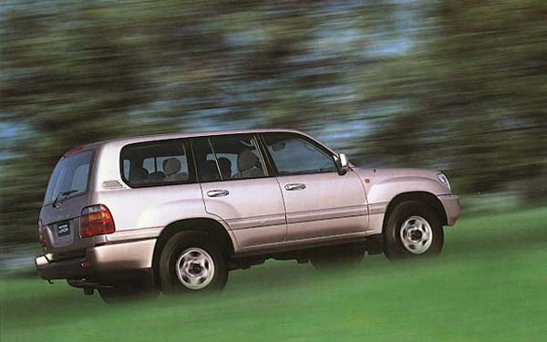 Фото Toyota Land Cruiser 100  (1998-2007)