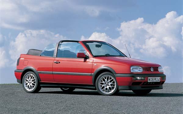 Volkswagen Golf Cabrio 1992-1998