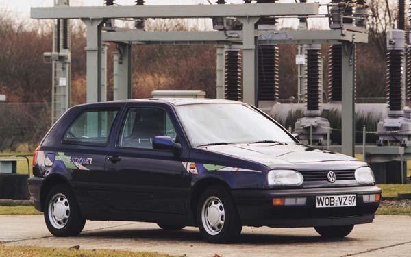 Volkswagen Golf 3-Door 1991-1997