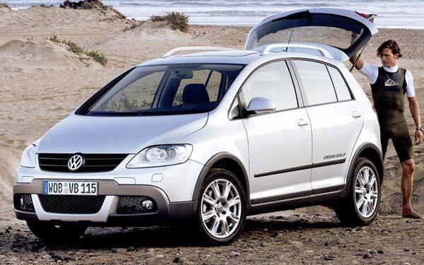 Фото Volkswagen CrossGolf  (2007-2009)