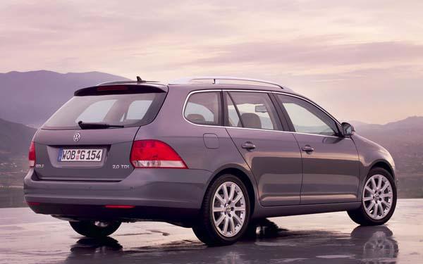 Volkswagen Golf Variant 2007-2009