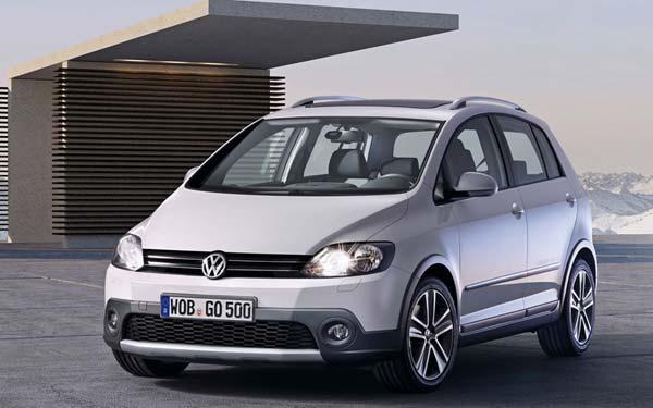Volkswagen CrossGolf 2010-2012