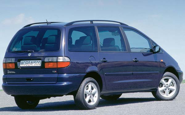 Volkswagen Sharan 1995-1999