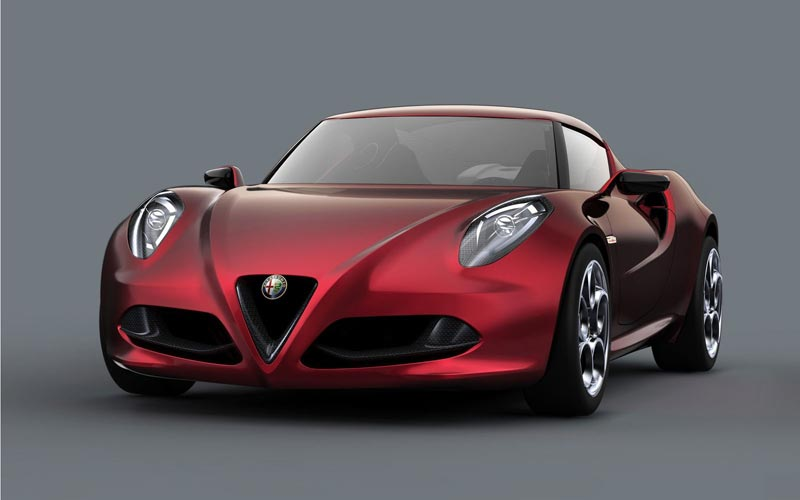 Фото Alfa Romeo 4C Concept