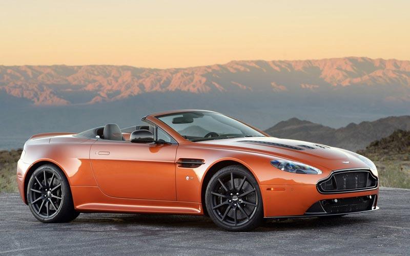 Фото Aston Martin V12 Vantage S Roadster