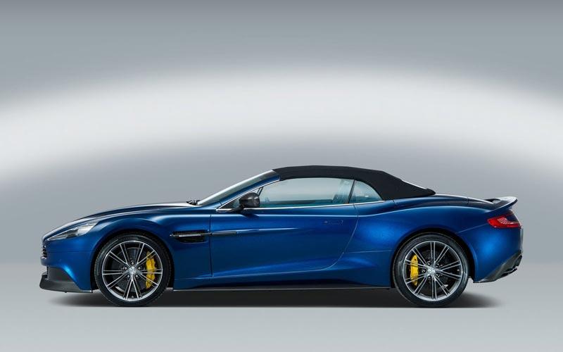 Фото Aston Martin V12 Vanquish Volante