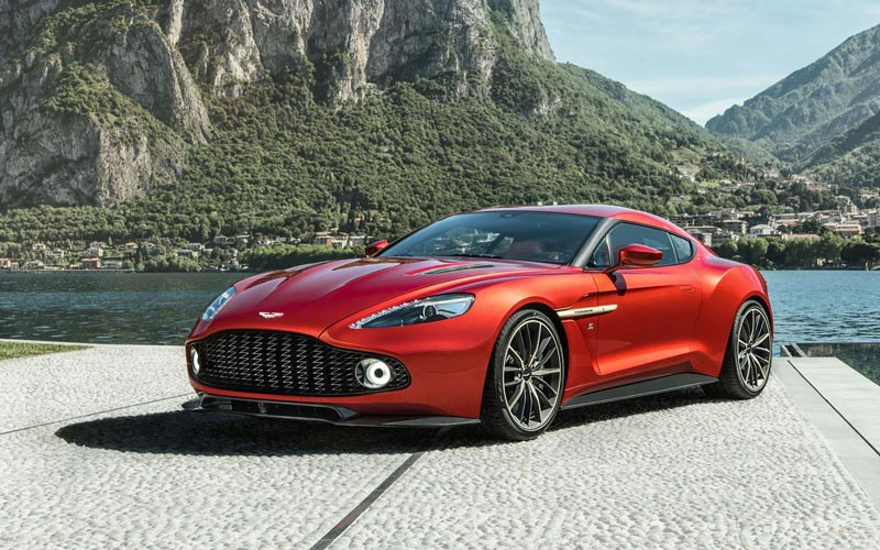 Фото Aston Martin Vanquish Zagato