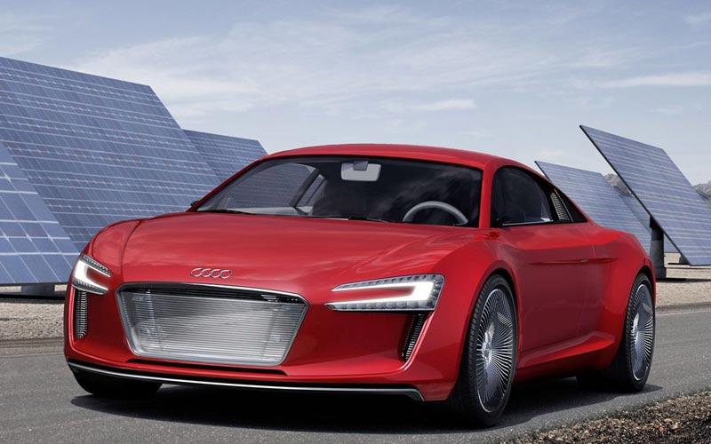 Фото Audi E-tron Concept  (2009)