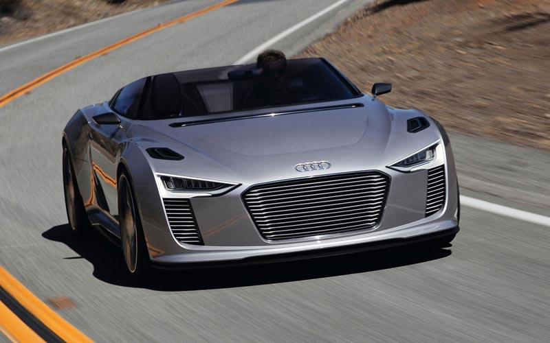 Фото Audi E-tron Spyder Concept