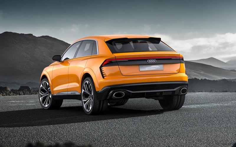 Фото Audi Q8 Sport Concept